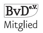 Logo BvD Mitgliedschaft