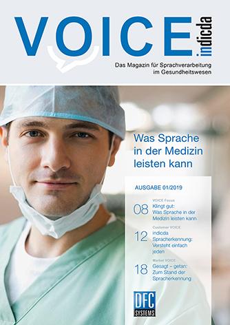 Voice Ausgabe 01/2019 Titelbild