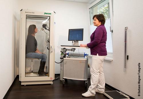 Pneumologie Mosbach Lungenfunktionstest