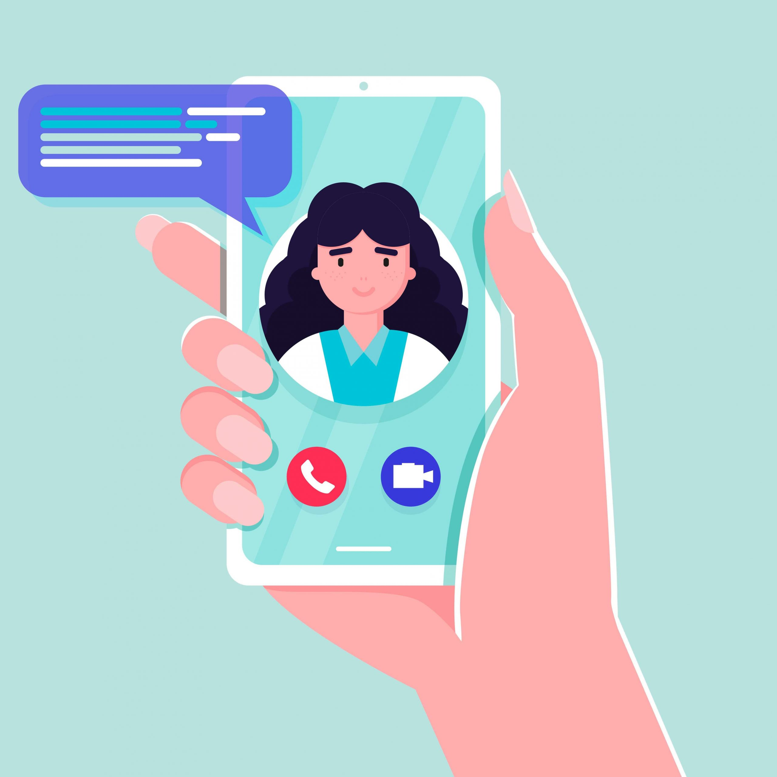 Digitale Krankenschwester